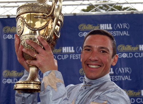 Frankie Dettori has won the race twice on Jimmy Styles (2009) and Redford (2010)