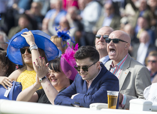 The excitement of the William Hill Ayr Gold Cup Festival
